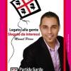Manuel Pirino lascia la segreteria del PSd'Az e vola a Bruxelles