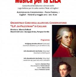 Cagliari: Musica per la LILA