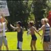 Provocatori cristiani all'assalto del Pride scatenano la protesta
