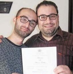Riccardo e Marco, la prima unione civile