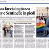 Faccia a faccia in piazza fra gay e Sentinelle in piedi