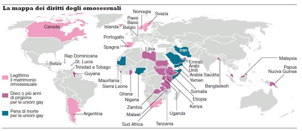 matrimoni omosessuali europa Cagliari