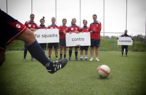 La Torres femminile nella campagna Fai squadra contro l'omofobia