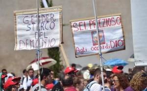 Manifestazione No Gender, Roma 20/06/2015