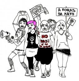 Appello per una partecipazione femminista e lesbica, gay, trans, queer alle iniziative antimilitariste contro la Trident Junctur