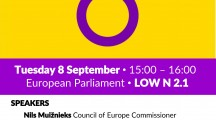 Sos deretos de sas persones intersessuales a su Parlamentu Europeu