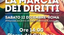 In marcia per i diritti di gay, lesbiche e trans e per un'italia, e una scuola, laica e inclusiva