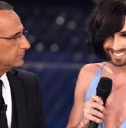 """Conchita Wurst a Sanremo con """"Heroes"""". Su Conti """"Sorpresa che mi abbia chiamato Tom"""""""