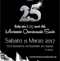 Festa per i 25 anni del MOS